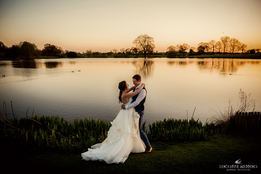 Stunning sunset shot at Sandhole Oak Barn