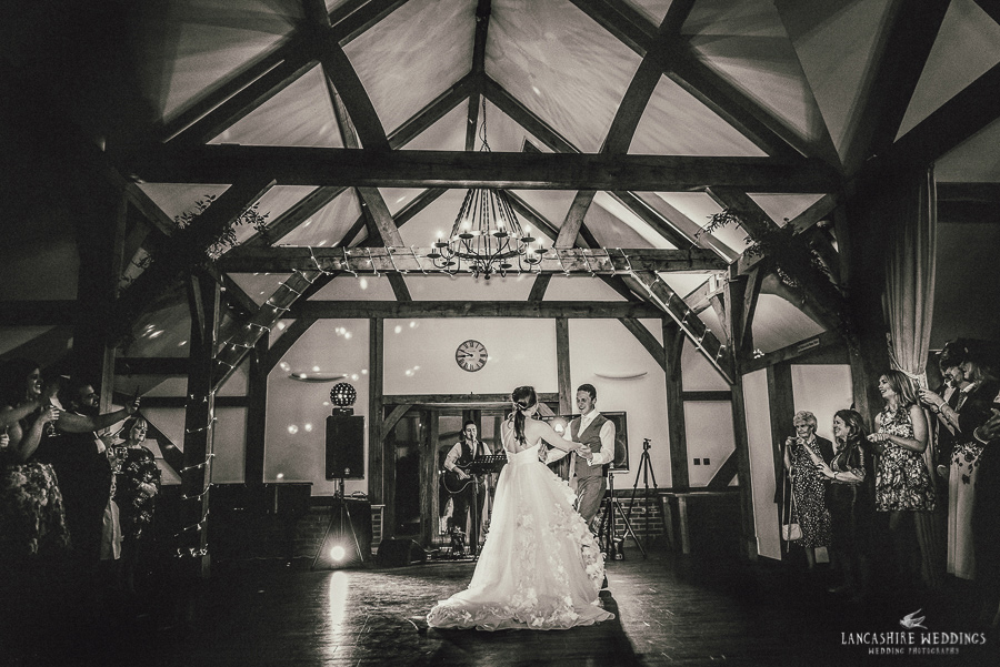 Simply stunning first dance at Sandhole Oak Barn