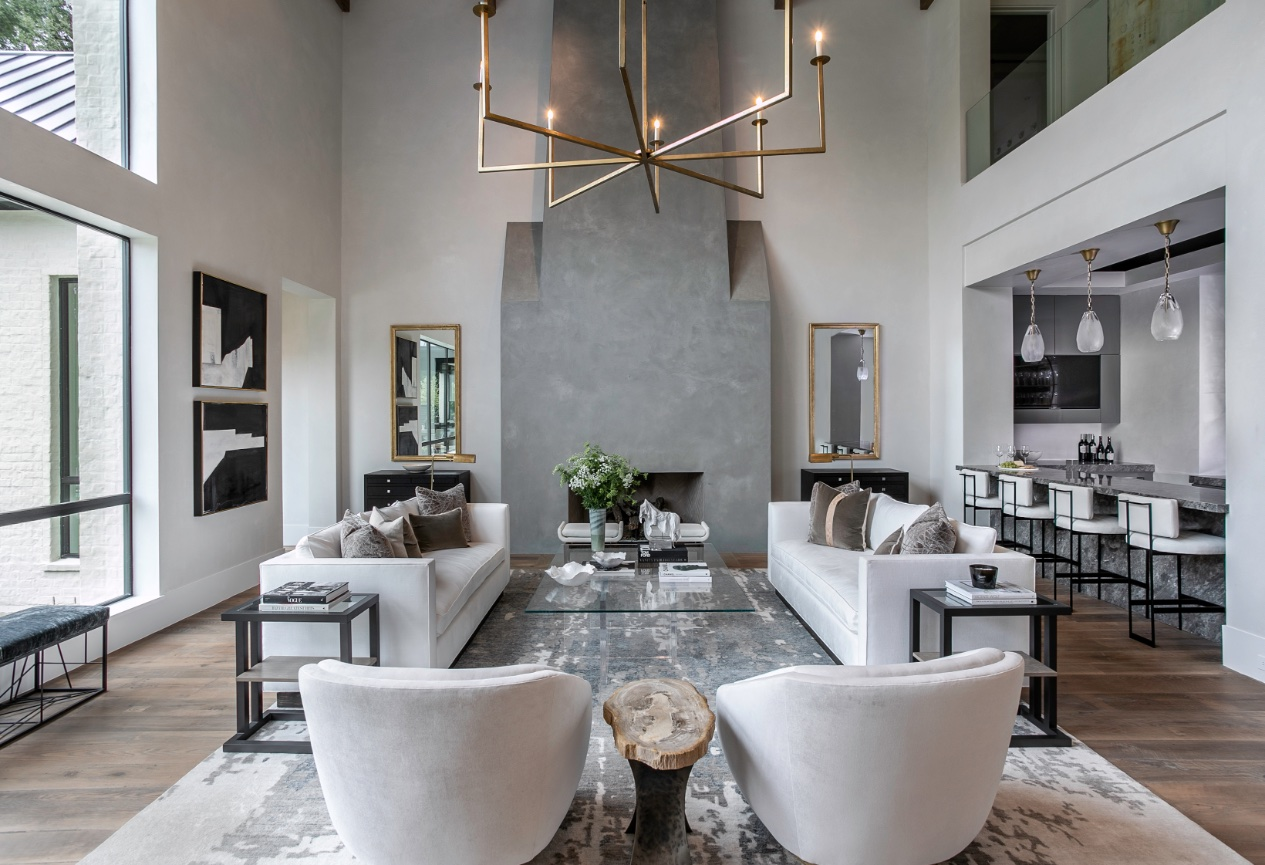 Talbot Cooley Interiors Houston Tx Residential Interior Design Somerland Way