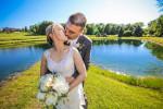 Karen & Corey. Married.