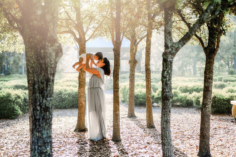 portrait through trees, beautiful Florida trees, Ponte Vedra park, Florida, Ryaphotos