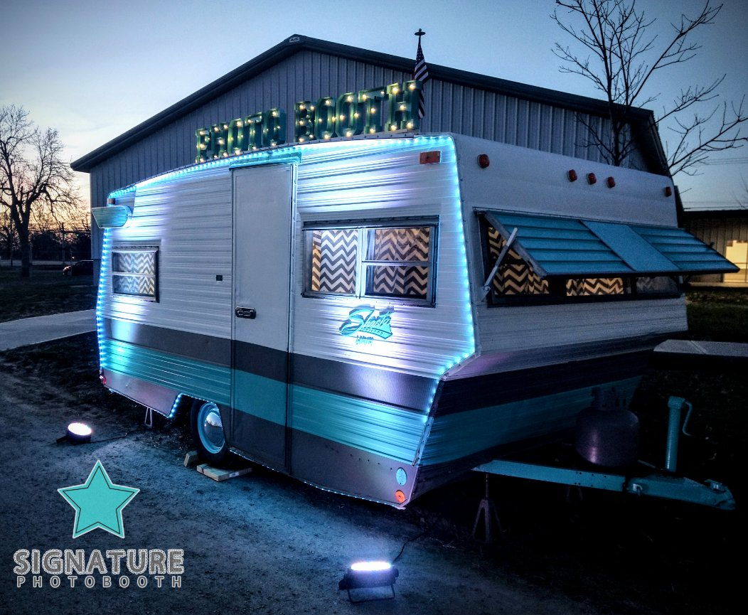 Shasta Package | Vintage Camper Photo Booth Rental