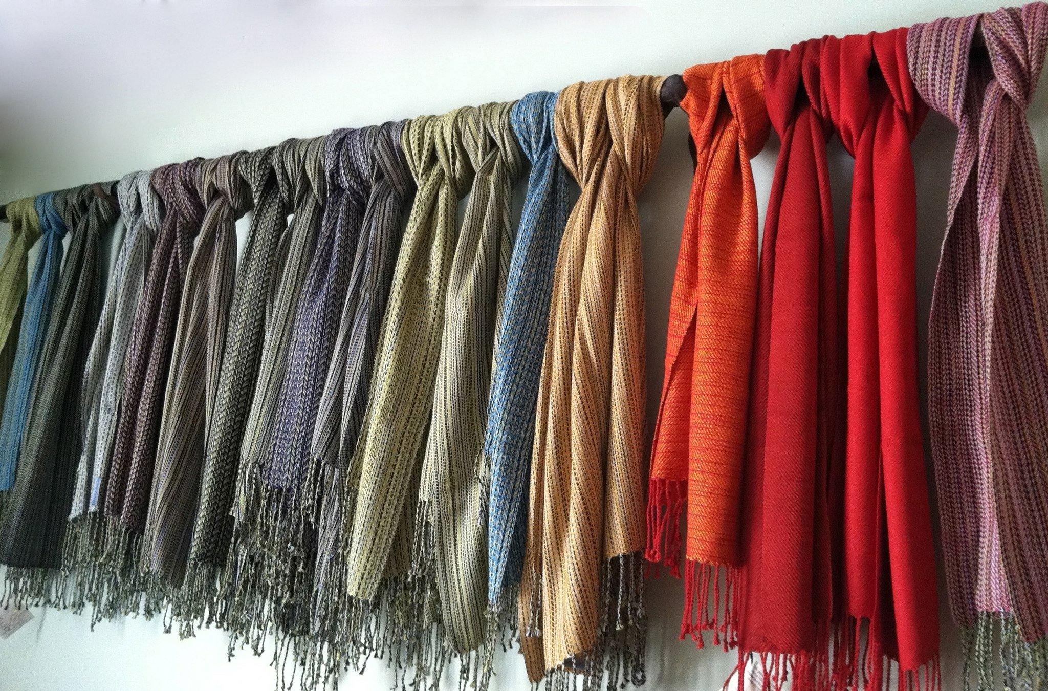 Bristol Looms knotted fabrics