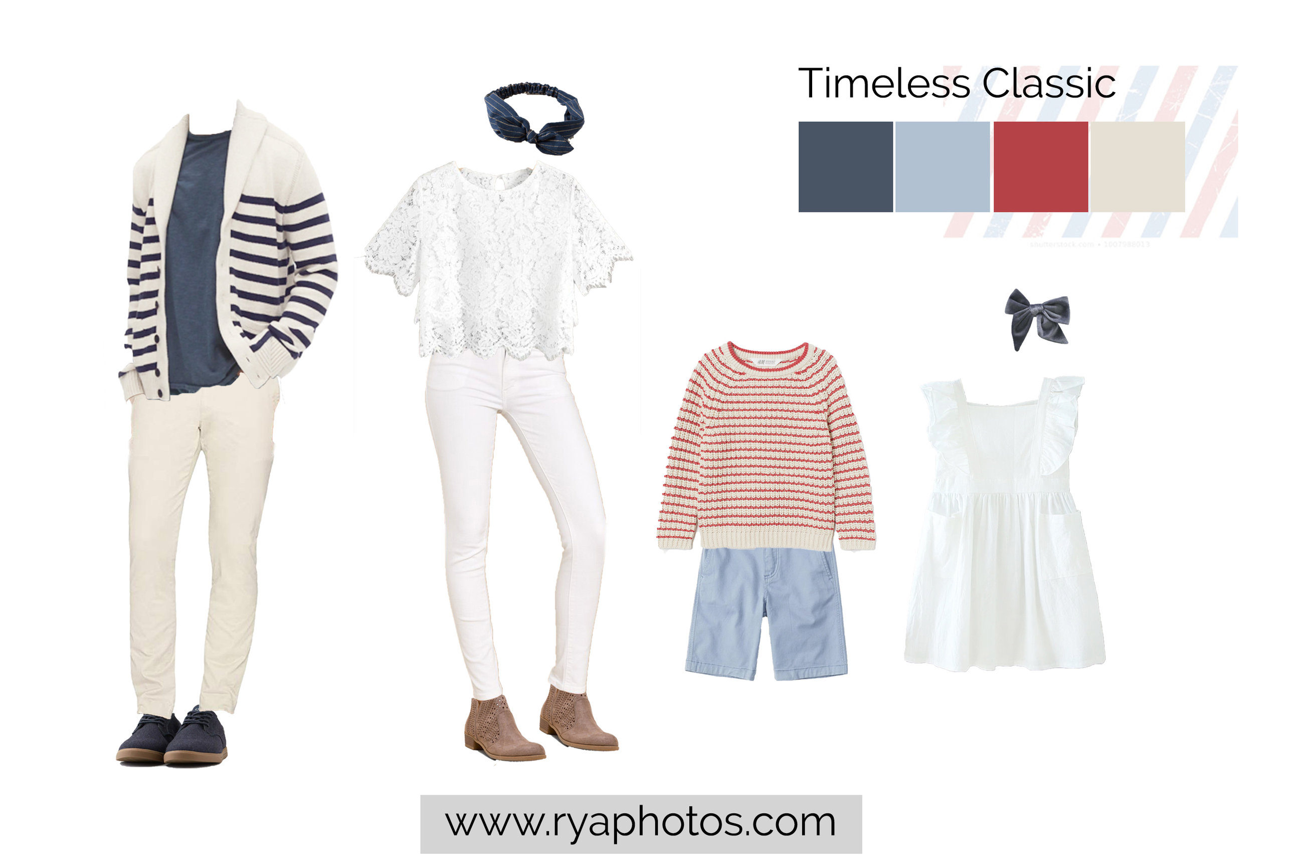 timeless classic family outfits, what to wear to Disney World, Magic Session, Americana family outfits, Magic Kingdom family outfits, family photo outfits for Disney World, Ryaphotos