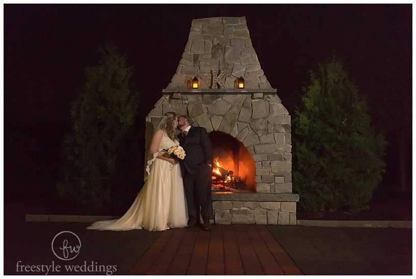 groveland fairways wedding photo