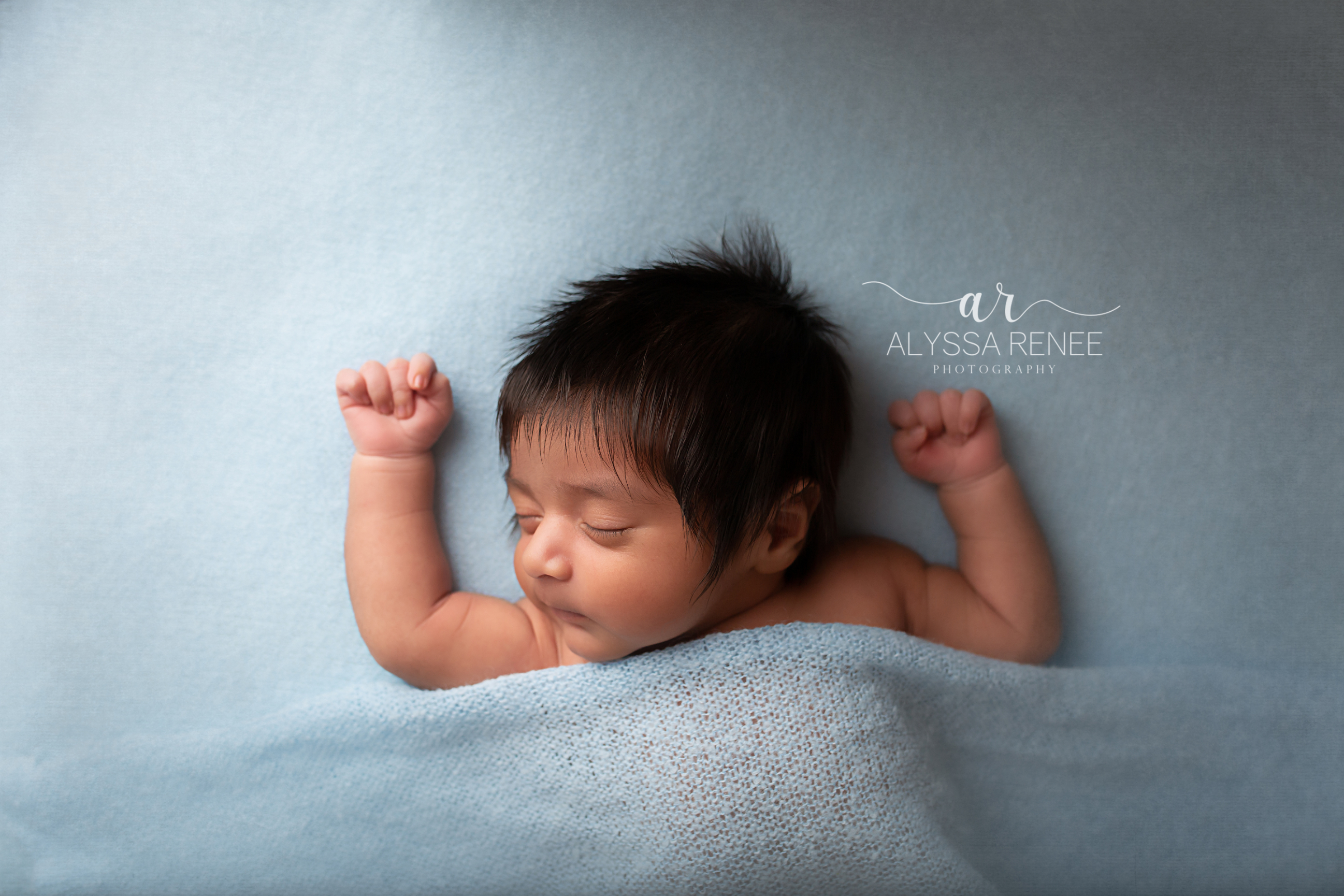 newborn portrait by alyssa Renee Photography